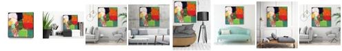 """Giant Art 20"""" x 20"""" Heart Chambers Art Block Framed Canvas"""