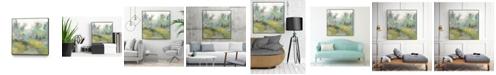 "Giant Art 30"" x 30"" Pastel Walk II Art Block Framed Canvas"