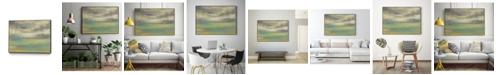 "Giant Art 28"" x 22"" Sunset Study VIII Art Block Framed Canvas"