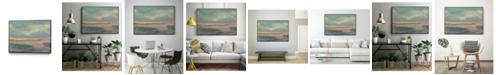 "Giant Art 14"" x 11"" Sunset Study VI Art Block Framed Canvas"