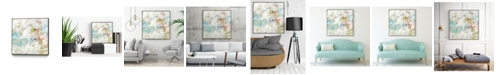 """Giant Art 20"""" x 20"""" Frost II Art Block Framed Canvas"""