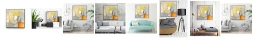 """Giant Art 30"""" x 30"""" Sacred I Art Block Framed Canvas"""