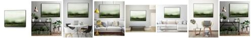 "Giant Art 40"" x 30"" Verdant III Art Block Framed Canvas"
