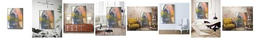 "Giant Art 40"" x 30"" Entry Point Art Block Framed Canvas"