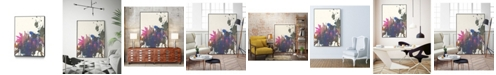"""Giant Art 14"""" x 11"""" Exuberant Splotch Art Block Framed Canvas"""