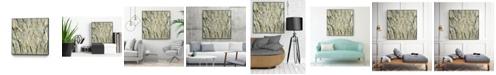"""Giant Art 30"""" x 30"""" Birches V Art Block Framed Canvas"""