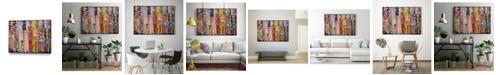 "Giant Art 36"" x 24"" Metro Mix 21 III Art Block Framed Canvas"