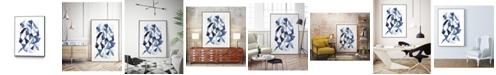 "Giant Art 36"" x 24"" Chrysalis II Art Block Framed Canvas"