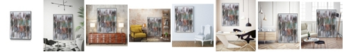 "Giant Art 24"" x 18"" Paint Scribble I Art Block Framed Canvas"