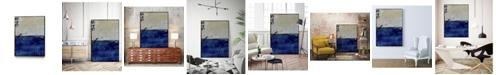 "Giant Art 14"" x 11"" Beach 45 I Art Block Framed Canvas"
