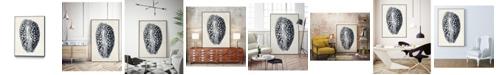 "Giant Art 14"" x 11"" Coastal Collection in III Art Block Framed Canvas"