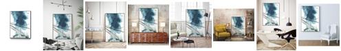 "Giant Art 24"" x 18"" Bella II Art Block Framed Canvas"