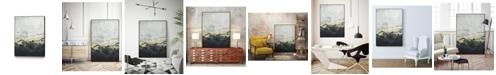 "Giant Art 32"" x 24"" Winter Mountains I Art Block Framed Canvas"