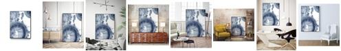 """Giant Art 24"""" x 18"""" Quasars III Art Block Framed Canvas"""