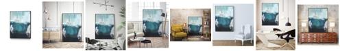 "Giant Art 36"" x 24"" Sea spray I Art Block Framed Canvas"