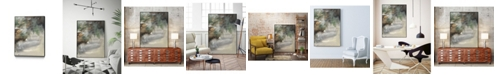 "Giant Art 40"" x 30"" Canyon Seasons I Art Block Framed Canvas"