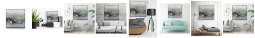 "Giant Art 30"" x 30"" Oriental Spring II Art Block Framed Canvas"