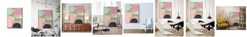 "Giant Art 32"" x 24"" Cheeky I Art Block Framed Canvas"