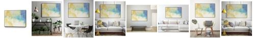 "Giant Art 32"" x 24"" Lux I Art Block Framed Canvas"