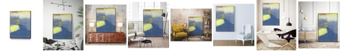 "Giant Art 28"" x 22"" Concord I Art Block Framed Canvas"