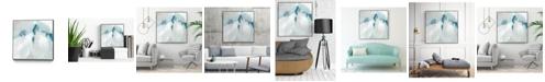"""Giant Art 30"""" x 30"""" Trace Echo II Art Block Framed Canvas"""