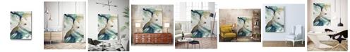 "Giant Art 40"" x 30"" Riviera III Museum Mounted Canvas Print"