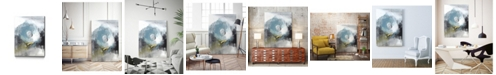"Giant Art 14"" x 11"" Aquamarine II Museum Mounted Canvas Print"