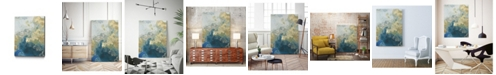 "Giant Art 14"" x 11"" Ocean Splash II Museum Mounted Canvas Print"