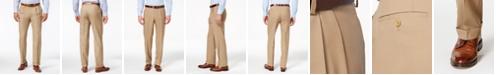 Lauren Ralph Lauren 100% Wool Double-Reverse Pleated Dress Pants