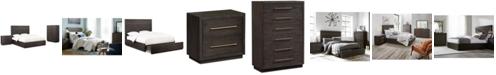 Furniture Cambridge Storage Platform Bedroom Furniture, 3-Pc. Set (Queen Bed, Chest & Nightstand), Created for Macy's