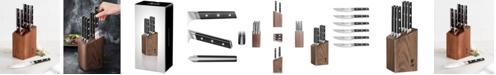 Cangshan TC Series 6-Pc. Steak Knife Set & Walnut Block