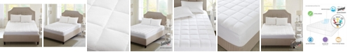 Sleep Philosophy Highline Quilted 3M Scotchgard Full Microfiber Mattress Pad