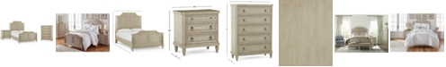 Furniture Chelsea Court Bedroom Furniture, 3-Pc. Set (Queen Bed, Nightstand & Chest), Created for Macy's