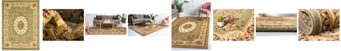 Bridgeport Home Belvoir Blv4 Green 9' x 12' Area Rug
