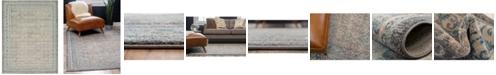Bridgeport Home Bellmere Bel4 Gray 9' x 12' Area Rug