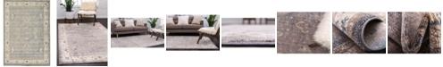Bridgeport Home Bellmere Bel5 Gray 7' x 10' Area Rug