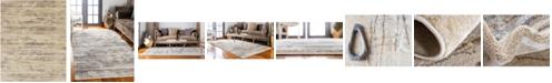 Bridgeport Home Aroa Aro9 Beige 8' x 10' Area Rug