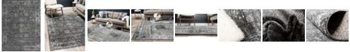Bridgeport Home Basha Bas1 Dark Gray 9' x 12' Area Rug