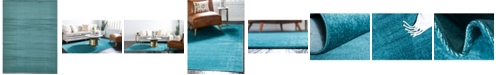 Bridgeport Home Axbridge Axb3 Teal 9' x 12' Area Rug