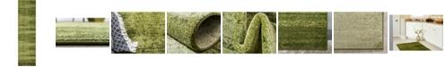 "Bridgeport Home Lyon Lyo3 Green 2' 7"" x 10' Runner Area Rug"