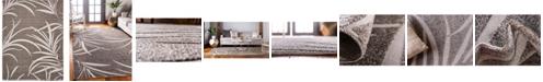 Bridgeport Home Pashio Pas4 Gray 9' x 12' Area Rug