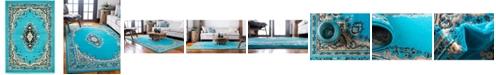 "Bridgeport Home Birsu Bir1 Turquoise 2' 2"" x 3' Area Rug"