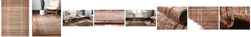 Bridgeport Home Jasia Jas13 Light Brown 9' x 12' Area Rug