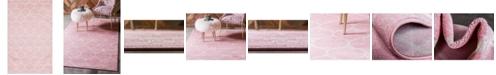 Bridgeport Home Plexity Plx2 Pink 5' x 8' Area Rug