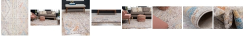 Bridgeport Home Nira Nir2 Ivory/Beige 9' x 12' Area Rug