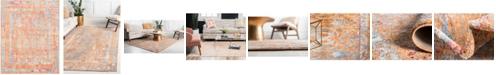 Bridgeport Home Zilla Zil2 Orange 8' x 10' Area Rug