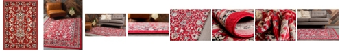 """Bridgeport Home Arnav Arn1 Red 2' 2"""" x 3' Area Rug"""