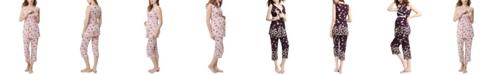 kimi + kai Kimi & Kai Loren Maternity Nursing Pajama Set