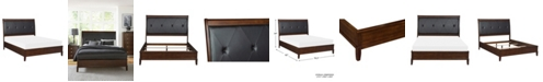 Furniture Norhill Sleigh Bed - King