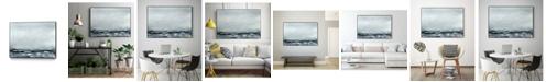 "Giant Art 24"" x 18"" Sea View IV Art Block Framed Canvas"